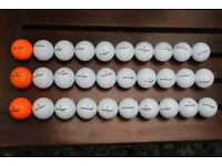30 used Dunlop Tour/Sport golf balls in good condition.