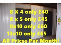 Best priced Self Storage units available in Belfast. Our prices WILL NOT be beaten.