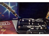 Yamaha Clarinet bought for lessons now collecting dust. Can include books, reeds and hard case.