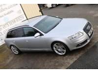 2008 AUDI A6 AVANT 2.0 TDI S LINE 140 BHP *BLACK EDITION SPEC* ( FINANCE & WARRANTY)