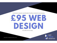 Web Design from £95 - Professional, responsive and affordable WordPress websites for your business.