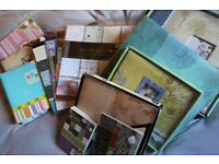 scrap-booking and supplies