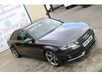 2010 AUDI A4 2.0TDIe 134PS SE 4DR SALOON ** BLACK EDITION SPEC**( FINANCE & WARRANTY AVAILABLE)