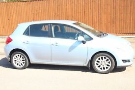 Toyota Auris 1.4 VVT-i T3 (2007) Petrol ((5 Door)) Manual ##HPI Clear## blue
