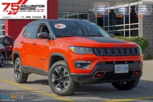 2017 Jeep Compass Trailhawk |STOP-START DUAL BATTERY SYSTEM....
