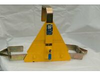 WHEEL CLAMP FOR TRAILER/CARAVAN