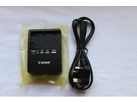 Original Canon LC-E6E LP-E6 Battery Charger for EOS 5D Mark II 7D 60D 6D