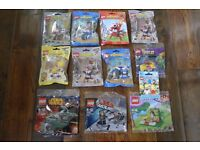 BRAND NEW LEGO MIXELS AND VARIOUS POLY BAGS