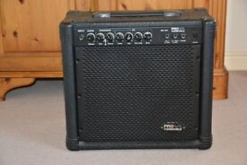 Proformance 20 watt guitar amp. (price drop now £20)