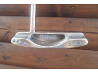 Ping A-Blade 5KS Steel Shafted Right Handed Steel Shafted Polished Putter,
