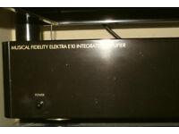 Musical Fidelity amplifier