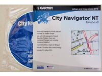 Garmin City Navigator NT Europe V9 CD Rom Unopened
