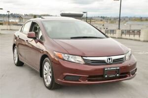 2012 Honda Civic EX Langley Locaiton!