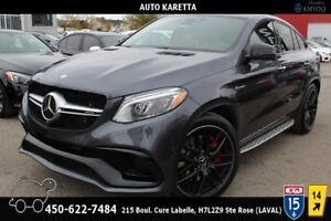 2016 Mercedes-Benz GLE GLE63 S AMG COUPE/LED/NAVI/PANORAMIC/360C