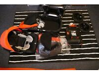 Ickle Bubba Stomp V3 All In One Travel System With Isofix Base