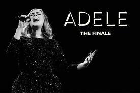 2x Adele standing tickets, Wembley Stadium, Sunday 2nd July 2017