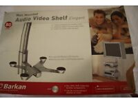 Audio video shelf - wall mounted - Barkan 80 model