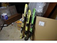 3 Sets of Skis ( Will sell seperately)