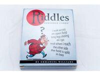 RIDDLES KNOWLEDGE CARDS BY EMMANUEL WILLIAMS
