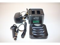 Dual battery Charger For Canon LP-E8 EOS 700D 650D 600D 550d Camera