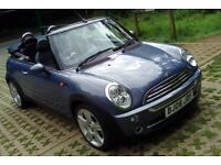 06 Mini Cooper Convertible, 2 Lady Owners, New MOT, FSH, Super Inside & Out, Low Mileage