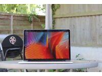 15 inch Retina Macbook Pro, i7 Quad-Core (TB up to 3.4Ghz), 16 RAM. 250GB SSD