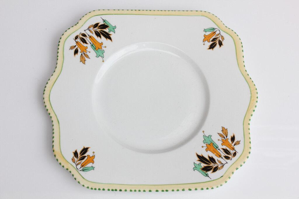 Old Vintage Avoca Ceramic Cake Plate Irish Ceramics Ireland ...