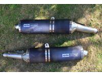 Aprilia RSV 1000 Factory Exhaust