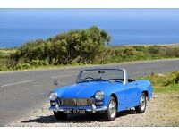 MG Midget Mk II 1964 in excellent condition, 1 previous owner