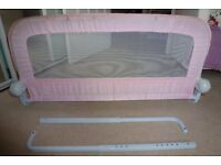 Pink Childrens Bed Guard / rail – Mothercare