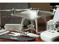 DJI Phantom 4 Drone + Additional Battery+ Awesome Bag/Rucksack - RRP £1330 - Bargain