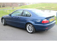 BMW 320 Ci COUPE 3 series 2.2 E46 LEATHER INTERIOR ALLOYS MOT FEB 2018 FSH (325 330) £1695
