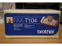 Brother FAXT104 - Fax-T104 Thermal Transfer Fax