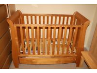 Wooden Cot Bed Tutti Bambini Katie Baby / Childs / Junior (Birth up to 4 Years) Sofa