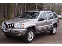 Jeep Grand Cherokee 2.7 CRD Limited Station Wagon 4x4 5dr HPI CLEAR