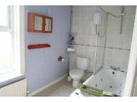 White Bathroom Suite. Jacuzzi ztyle bath. Viewings Welcome. Open to offers.