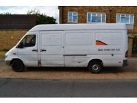 Mercedes Benz SPRINTER van, perfect engine and very good condition for sale £ 1900.