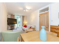 One bedroom furnished garden flat in Marchmont
