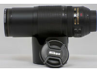 NIKON 70-300MM VR LENS FOR NIKON DSLR CAMERA