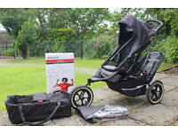 Phil and Ted's Sport Double Buggy with Accessories For Sale