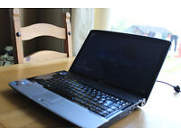 AWESOME ACER GAMING DUAL CORE CPU 2.10GHZ PER CORE 4GB RAM 250GB HDD GOOD BATTERY, NEW CHARGER HDMI