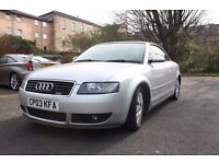 Audi A4 Sport 1.8T convertible S-line ***REDUCED PRICE***