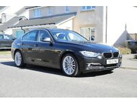 2013 BMW 320d Luxury, Auto, Heated Leather, Satnav, Full BMW Service History. Fantastic condition