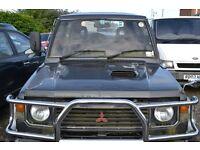 1990 - Mitsubishi Pajero Interculer - Turbo in Black - BREAKING for SPARE PARTS