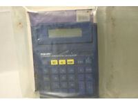 Large Euro Conversion Calculator Still in sealed packet unused