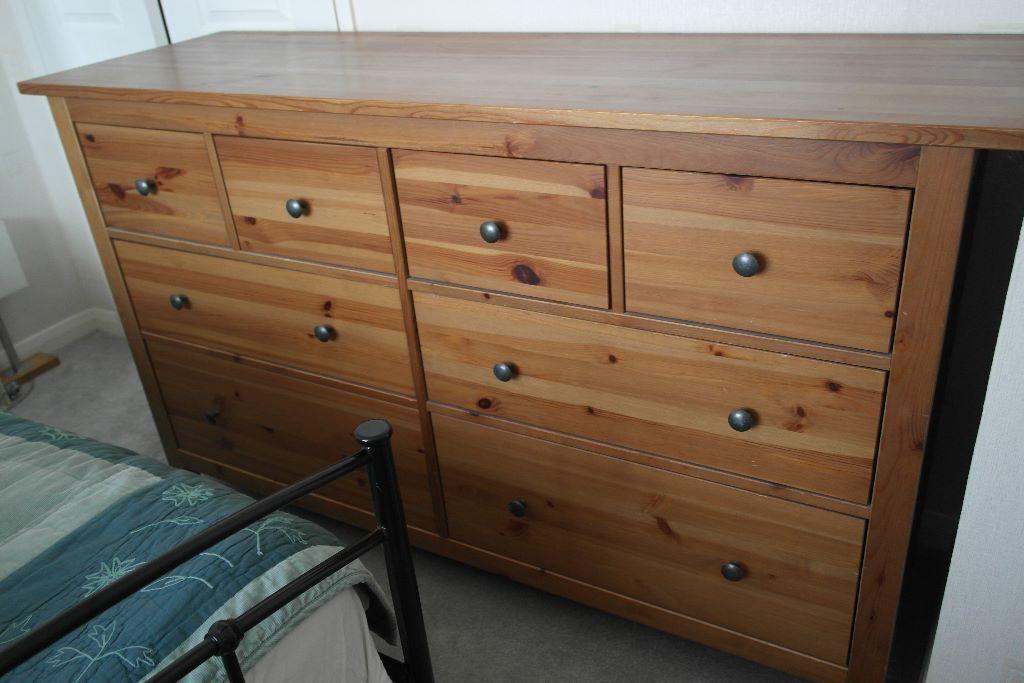 Ikea Hemnes chest of 8 drawers in pine finish in Maidenhead, Berkshire Gumtree