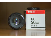 Canon EF 50mm f/1.8 II (Nifty Fifty)