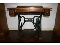 Antique/Vintage Jones Treadle Sewing Machine. Only available now for a few days.