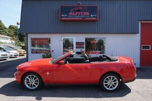 2010 Ford Mustang V6 4.0L CONVERTIBLE AUTOMATIQUE 68 745 Km !!