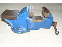 """Bench vice 4"""" jaws"""